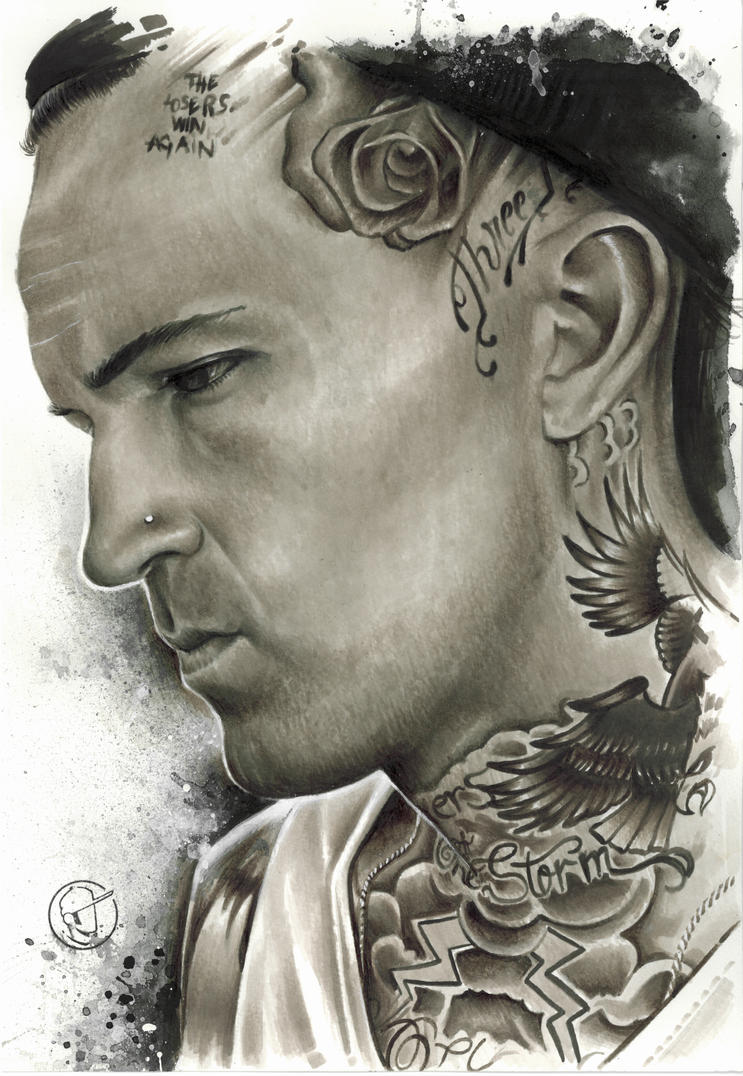 Yelawolf Tattoos Lip Yelawolf Lip Tattoo | ...