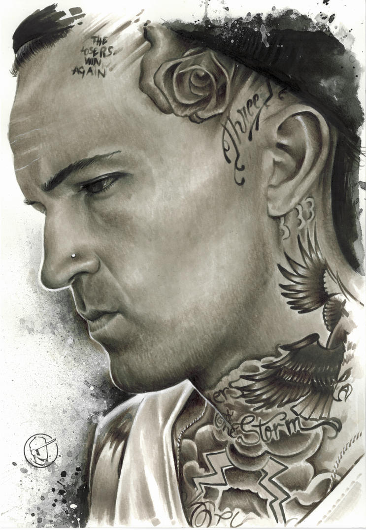 Yelawolf by fernandotravis on deviantart for Yelawolf tattoo artist