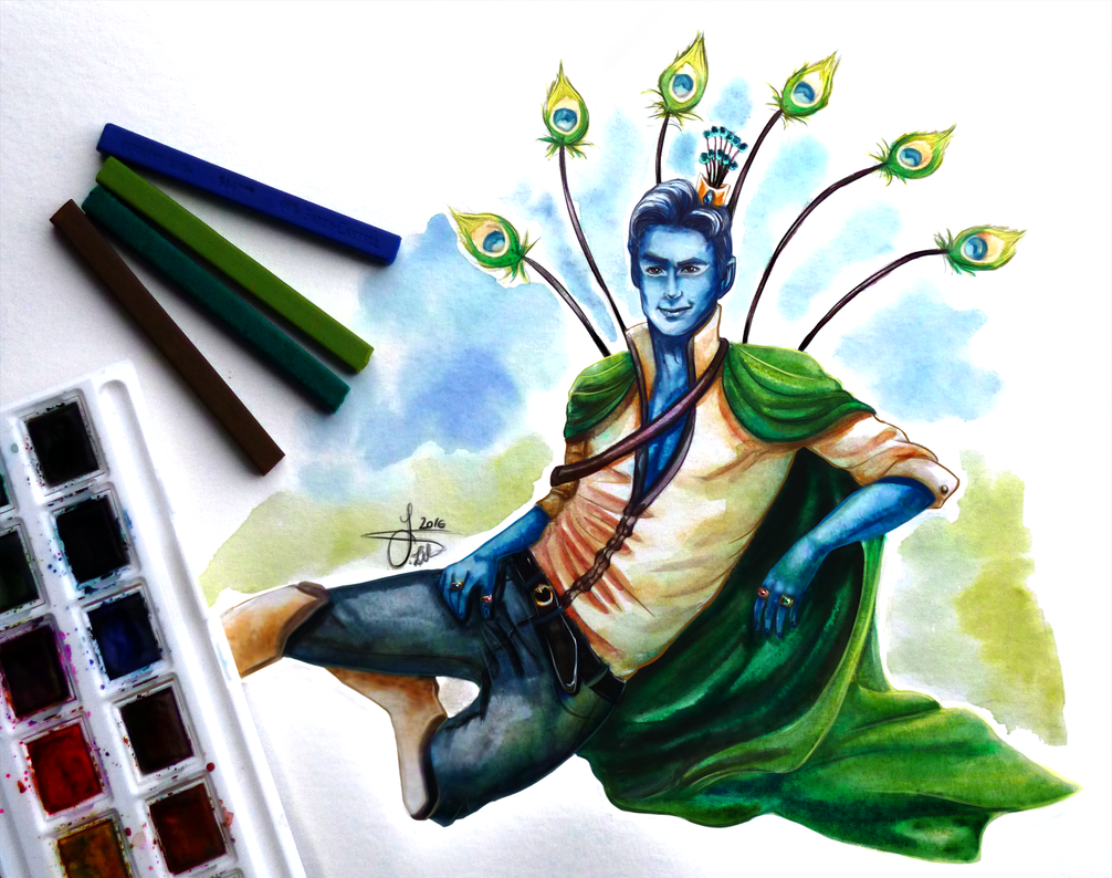 The Pompous Prince of Peacocks by Crestwaves