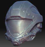 Recon Helmet Sculpt by MikeJensen