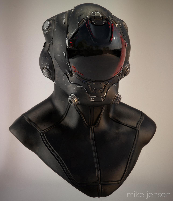 Pilot's Helmet by MikeJensen
