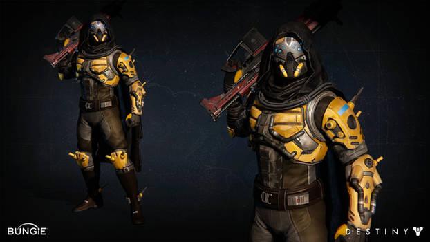 Destiny - Argus Armor In Game