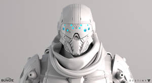 Destiny Argus Front Face White