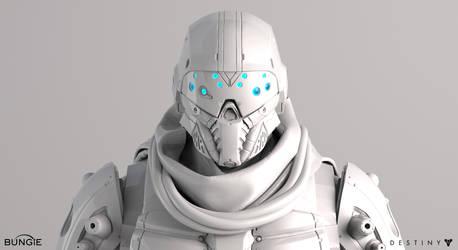 Destiny Argus Front Face White