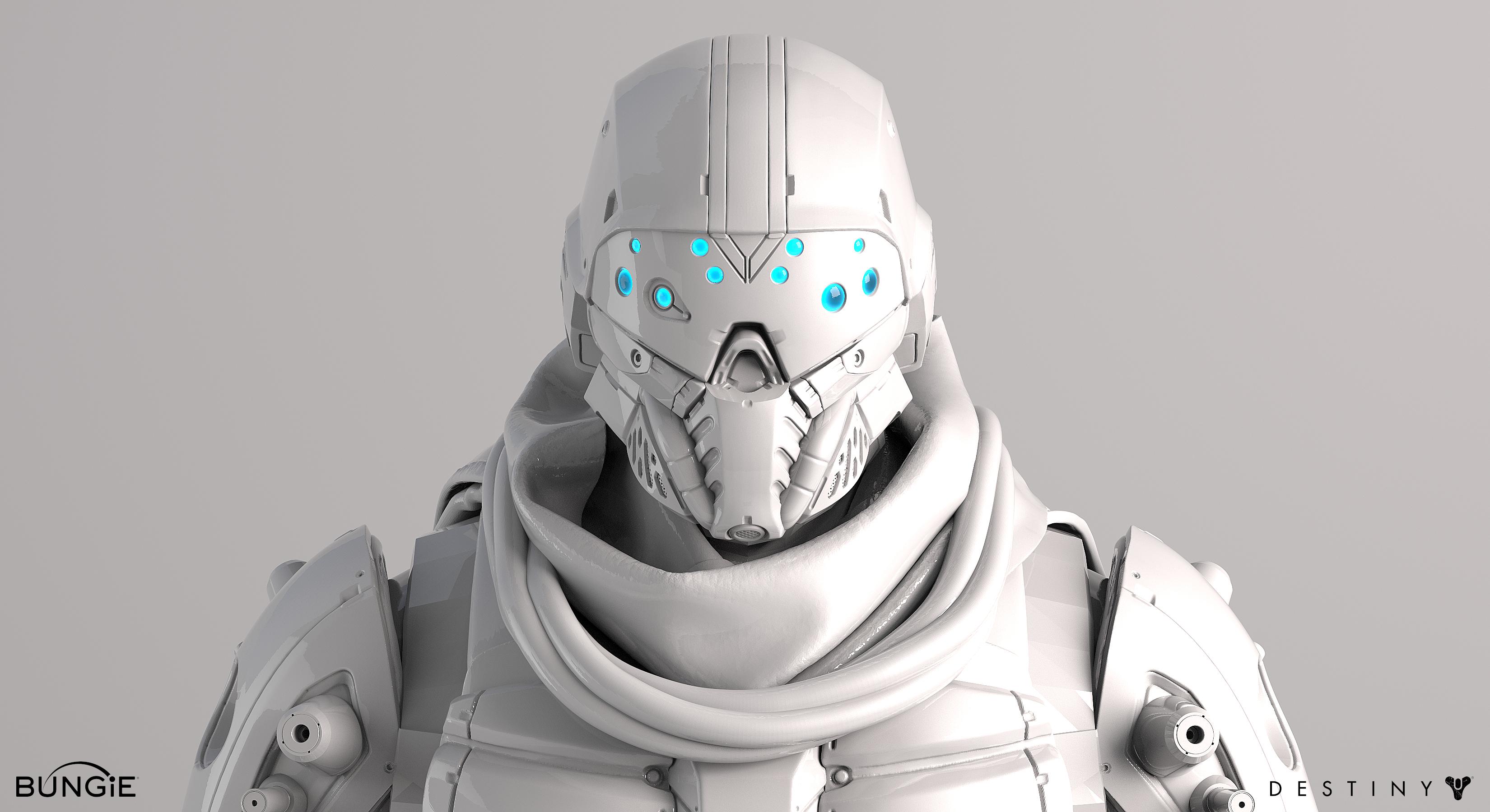 Destiny Argus Front Face White by MikeJensen on DeviantArt