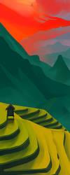 Landscape Color Study Alternate by MikeJensen