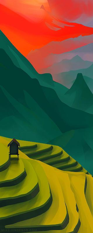 Landscape Color Study Alternate