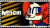 Mitchi stamp by CrazyZombieCat