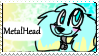 MetalHead stamp by CrazyZombieCat