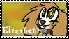 Elizabeth stamp  by CrazyZombieCat