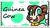 GuineaCow stamp by CrazyZombieCat