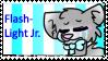 FlashLight jr stamp by CrazyZombieCat