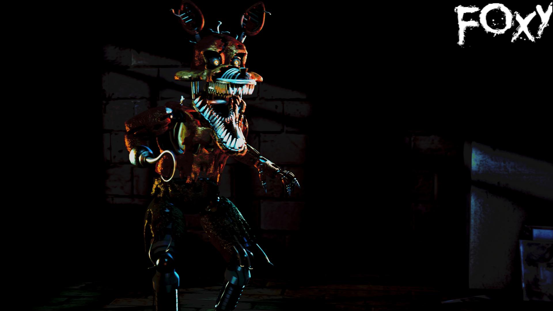 Nightmare Foxy by Purps1 on DeviantArt