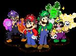 Mario and Luigi: Warui Time