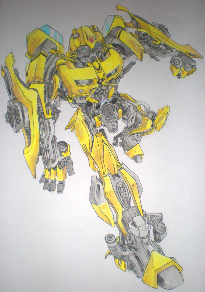 Scanner Near Me >> Transformers- Bumblebee by Pirrip on DeviantArt