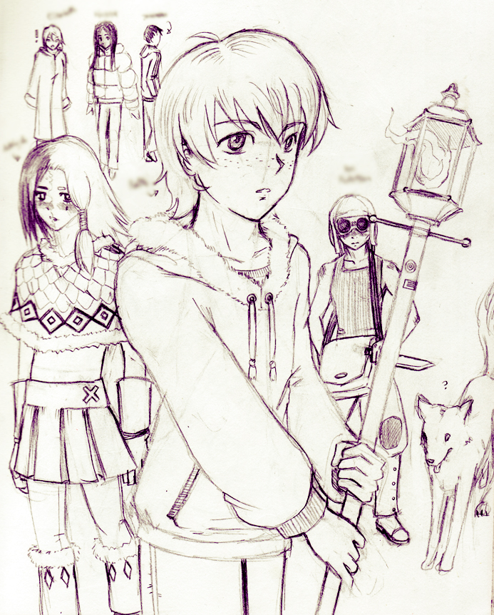 Original Characters for novel by Pirrip