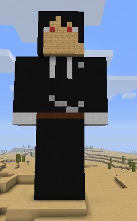 Minecraft Sebastian Michaelis by xXartistic-kitsuneXx