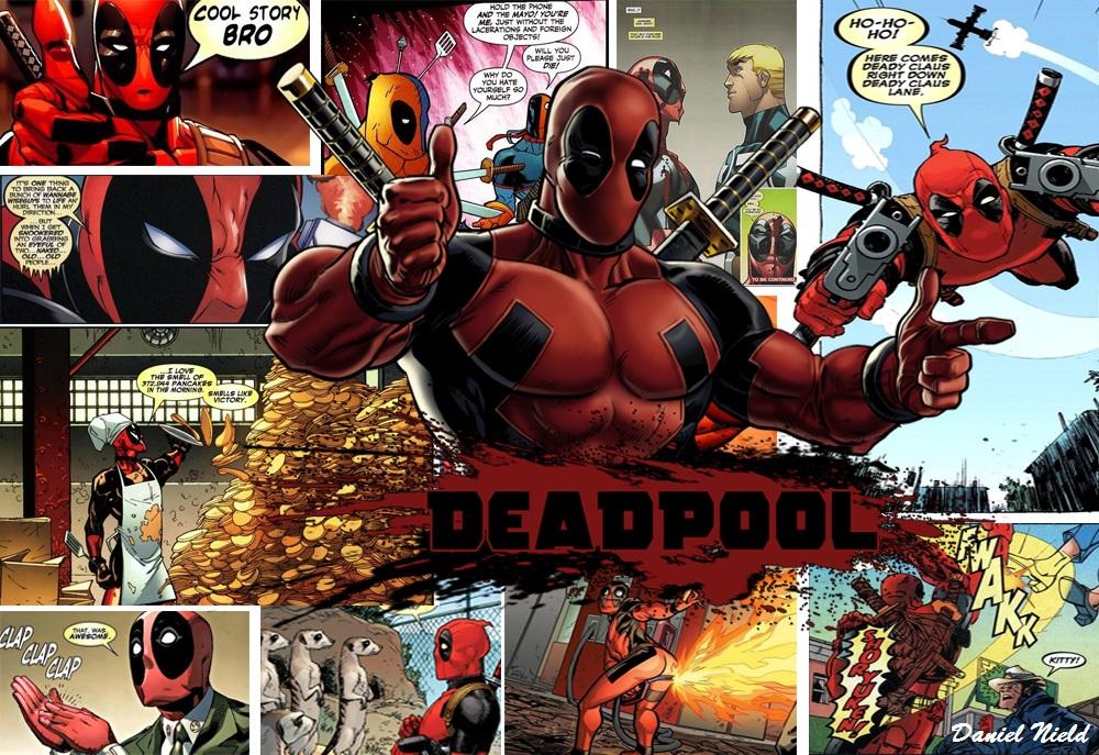 deadpool comic wallpaper by dantehd on deviantart