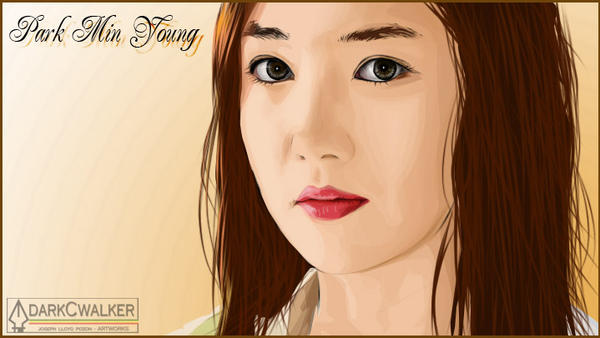 Park Min Young by darkCwalker