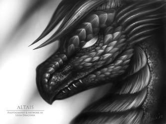 Drace Portrait by LeviaDraconia