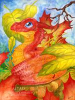 Autumn Dragon Hatchling by LeviaDraconia