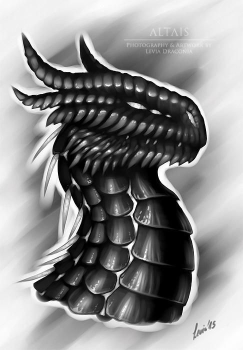 Dragon Portrait Speedpainting + video! by LeviaDraconia