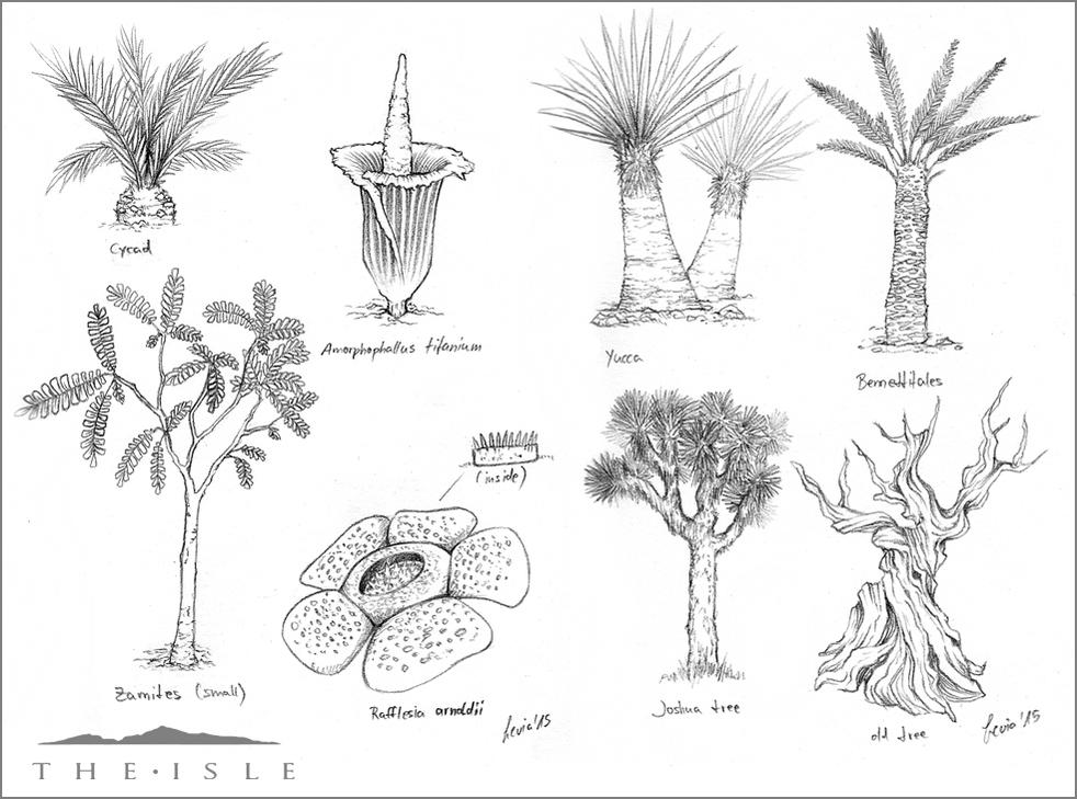 The Isle - Flora by LeviaDraconia