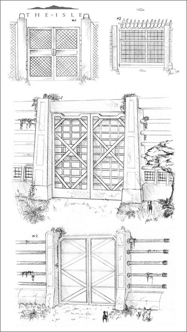 The Isle - Gates by LeviaDraconia
