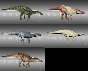 The Isle - Shantungosaurus Skins by LeviaDraconia