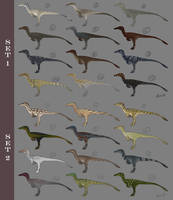 Raptor Skin Designs by LeviaDraconia