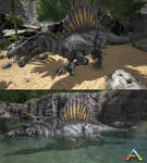 Ark - Spinosaurus Skin #1 - Swamplord
