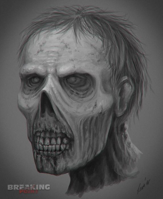 Breaking Point SA - Zombie Concept I by LeviaDraconia