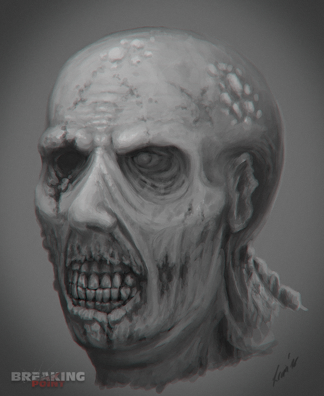 Breaking Point SA - Zombie Concept II by LeviaDraconia