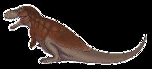 Tyrannosaurus Pixel Art