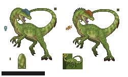 Primordial - Dilophosaurus by LeviaDraconia