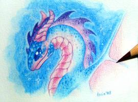 Little Blue Dragon by LeviaDraconia