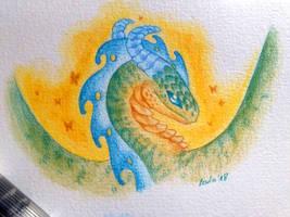 Little Green Dragon by LeviaDraconia