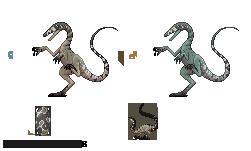 Primordial - Compsognathus by LeviaDraconia