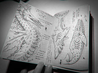 Sketchbook Creatures by LeviaDraconia