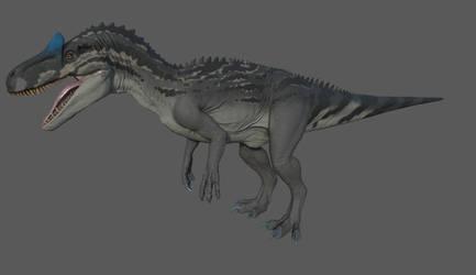 JWE Allosaurus Skin (WIP) by LeviaDraconia