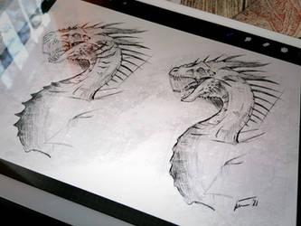 Dragon Sketches 05/03/2021