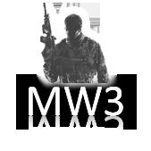 Lucid: Icons - MW3 White by legolinho