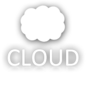 Lucid: Icons - Cloud (general) White by legolinho