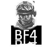 Lucid: Icons - Battlefield 4 White (Alternative) by legolinho