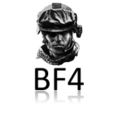 Lucid: Icons - Battlefield 4 Black (Alternative) by legolinho