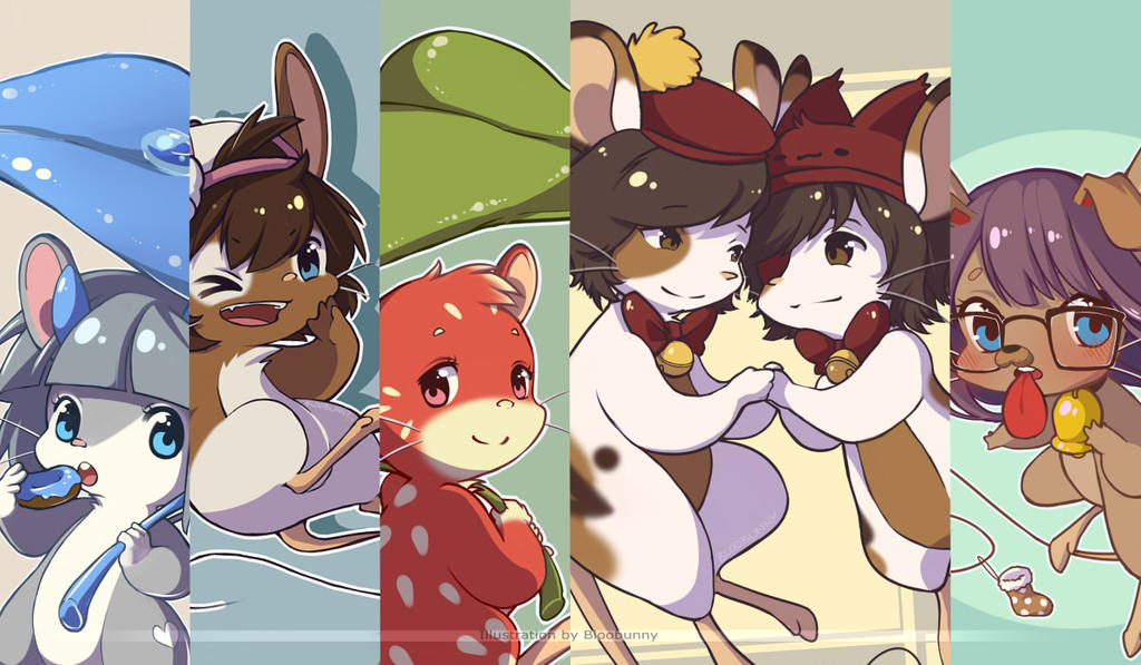 December [COM]s by Bloobunnyy
