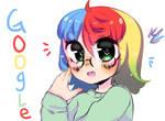 Google but anime !