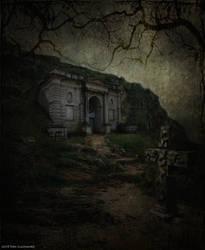 Mausoleum by Nightfall