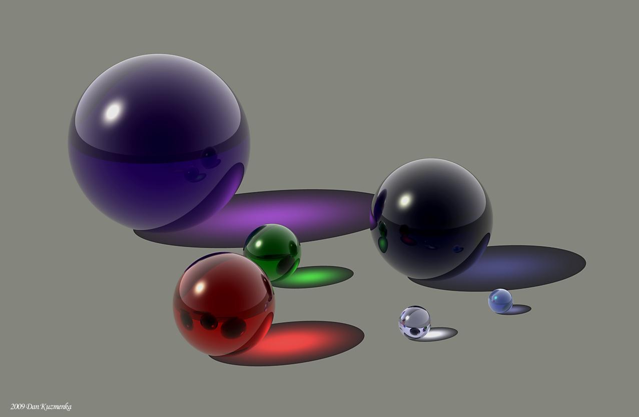 Spheres by kuzy62