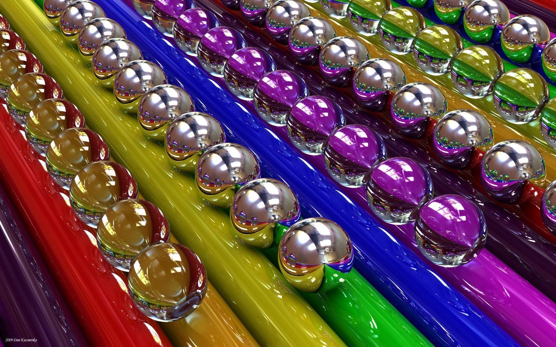 Rainbow tubes by kuzy62